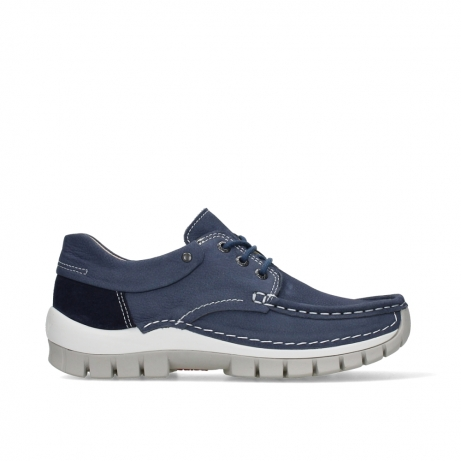 wolky lace up shoes 04701 fly 11820 denim nubuck
