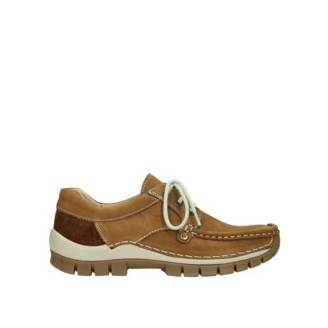wolky lace up shoes 04708 seamy fly 10410 tobacco nubuck