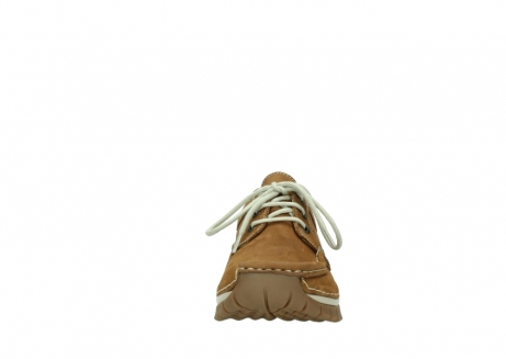 wolky lace up shoes 04708 seamy fly 10410 tobacco nubuck_19