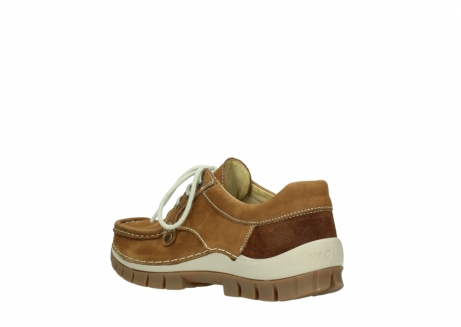 wolky lace up shoes 04708 seamy fly 10410 tobacco nubuck_4