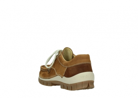 wolky lace up shoes 04708 seamy fly 10410 tobacco nubuck_5