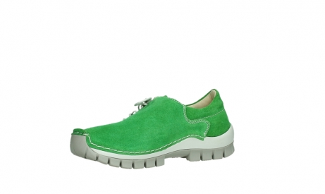 wolky lace up shoes 04710 side 40740 applegreen oiled suede_11