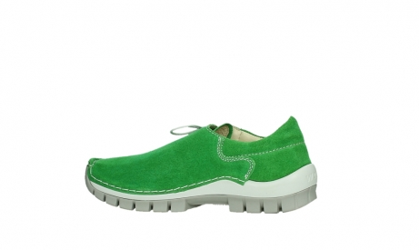wolky lace up shoes 04710 side 40740 applegreen oiled suede_14
