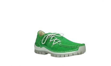 wolky lace up shoes 04710 side 40740 applegreen oiled suede_4