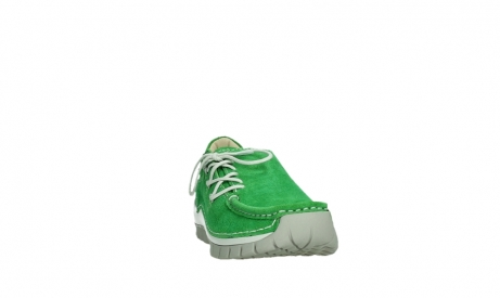 wolky lace up shoes 04710 side 40740 applegreen oiled suede_6
