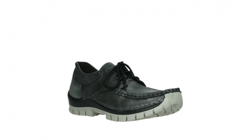 wolky lace up shoes 04726 fly winter 81280 metal grey leather_4