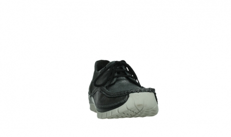 wolky lace up shoes 04726 fly winter 81280 metal grey leather_6