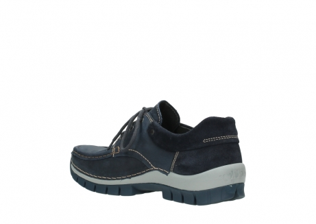 wolky lace up shoes 04750 fly men 11802 blue oiled nubuck_10