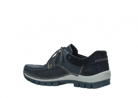 wolky lace up shoes 04750 fly men 11802 blue oiled nubuck_11