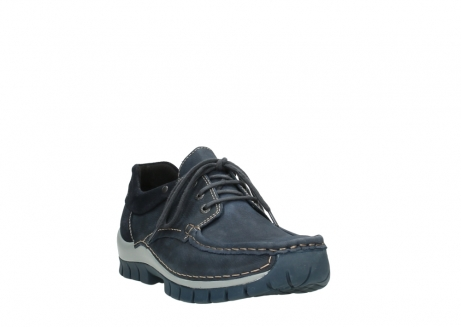 wolky lace up shoes 04750 fly men 11802 blue oiled nubuck_21