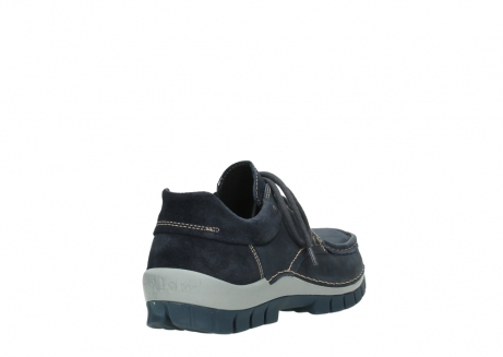 wolky lace up shoes 04750 fly men 11802 blue oiled nubuck_5