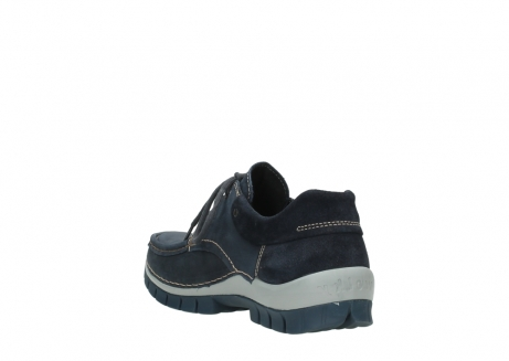 wolky lace up shoes 04750 fly men 11802 blue oiled nubuck_9