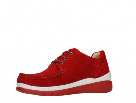 wolky lace up shoes 04853 time 11570 red nubuck_11