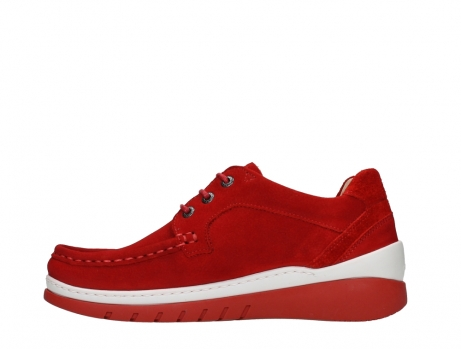 wolky lace up shoes 04853 time 11570 red nubuck_13