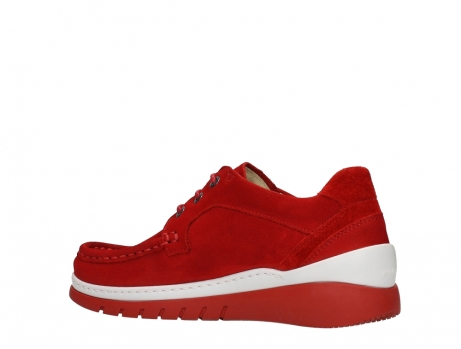 wolky lace up shoes 04853 time 11570 red nubuck_15