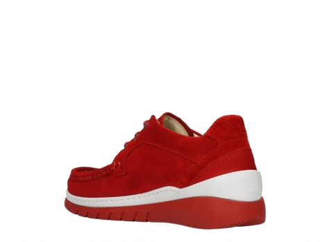 wolky lace up shoes 04853 time 11570 red nubuck_16