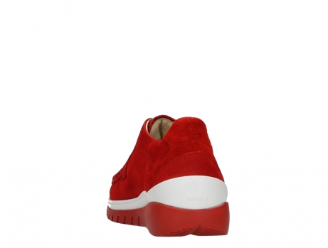 wolky lace up shoes 04853 time 11570 red nubuck_18