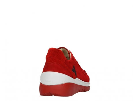 wolky lace up shoes 04853 time 11570 red nubuck_20