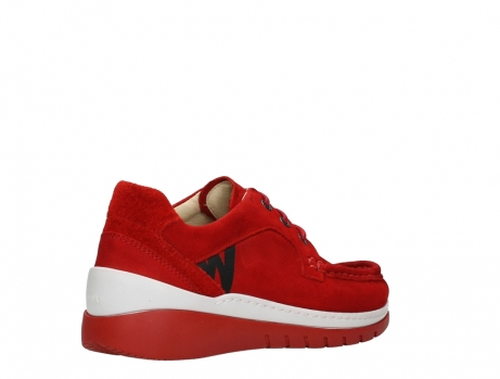 wolky lace up shoes 04853 time 11570 red nubuck_22
