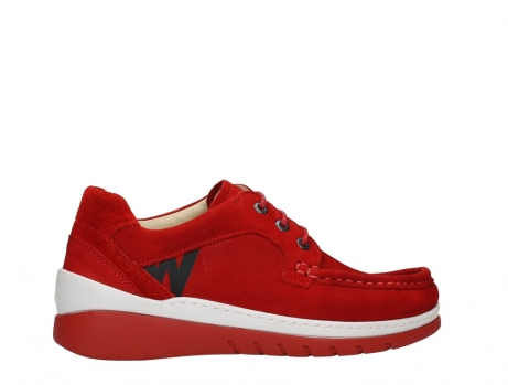 wolky lace up shoes 04853 time 11570 red nubuck_24