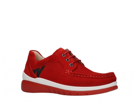 wolky lace up shoes 04853 time 11570 red nubuck_3