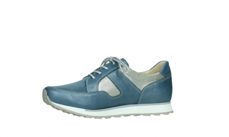 wolky lace up shoes 05811 e walk xw 87860 steel blue pearl stretch leather_12