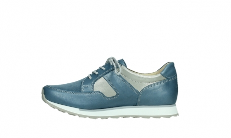 wolky lace up shoes 05811 e walk xw 87860 steel blue pearl stretch leather_13