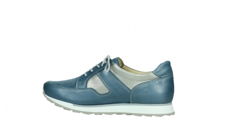 wolky lace up shoes 05811 e walk xw 87860 steel blue pearl stretch leather_14