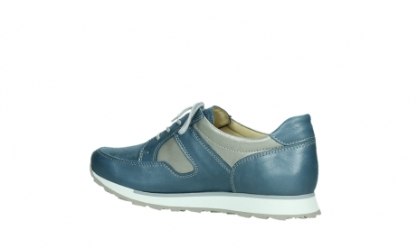 wolky lace up shoes 05811 e walk xw 87860 steel blue pearl stretch leather_15