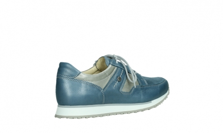 wolky lace up shoes 05811 e walk xw 87860 steel blue pearl stretch leather_23