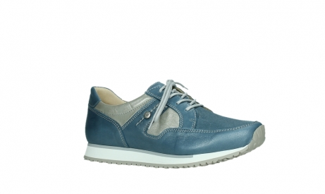 wolky lace up shoes 05811 e walk xw 87860 steel blue pearl stretch leather_3