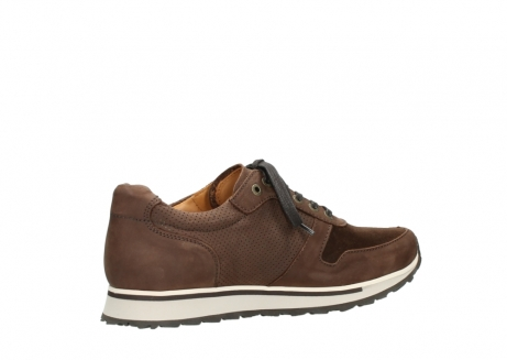 wolky lace up shoes 05850 e walk men 11430 cognac nubuck_11