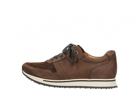 wolky lace up shoes 05850 e walk men 11430 cognac nubuck_2