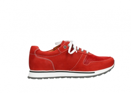 wolky lace up shoes 05850 e walk men 11570 red stretch leather_12