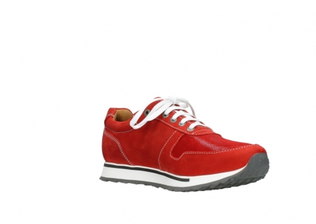 wolky lace up shoes 05850 e walk men 11570 red stretch leather_16