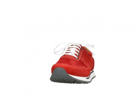 wolky lace up shoes 05850 e walk men 11570 red stretch leather_20