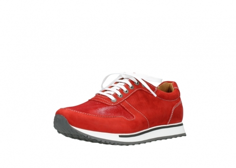 wolky lace up shoes 05850 e walk men 11570 red stretch leather_22