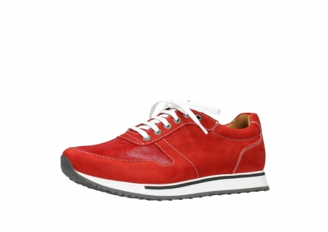 wolky lace up shoes 05850 e walk men 11570 red stretch leather_23
