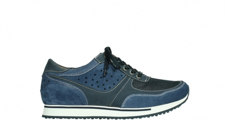 wolky lace up shoes 05851 e sneaker men 11870 blue stretch nubuck_1