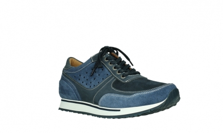 wolky lace up shoes 05851 e sneaker men 11870 blue stretch nubuck_4