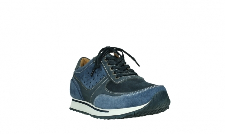 wolky lace up shoes 05851 e sneaker men 11870 blue stretch nubuck_5