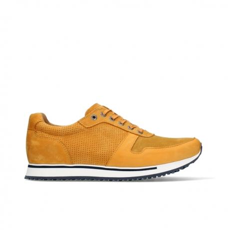 wolky lace up shoes 05852 e walk men 11550 yellow orange nubuck
