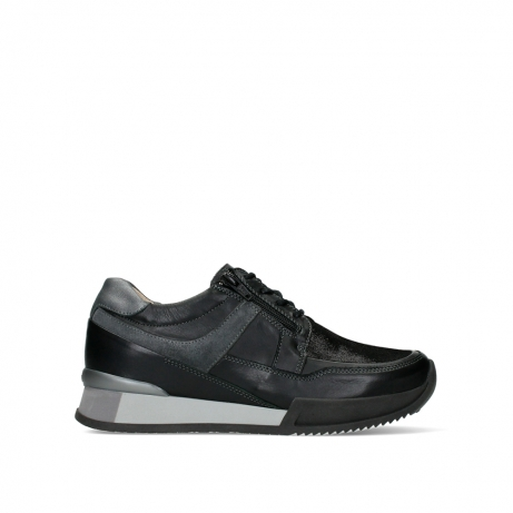 wolky lace up shoes 05880 banff 24000 black leather