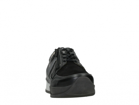 wolky lace up shoes 05880 banff 24000 black leather_6