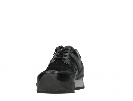 wolky lace up shoes 05880 banff 24000 black leather_8