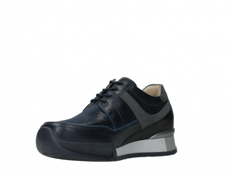 wolky lace up shoes 05880 banff 24800 blue stretch leather_10