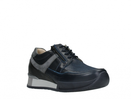 wolky lace up shoes 05880 banff 24800 blue stretch leather_4