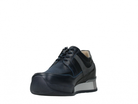 wolky lace up shoes 05880 banff 24800 blue stretch leather_9