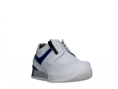 wolky lace up shoes 05882 field 20184 white jeans leather_5