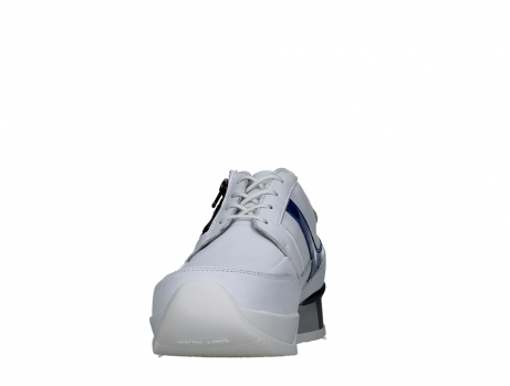 wolky lace up shoes 05882 field 20184 white jeans leather_8